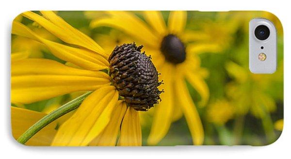 Yellow Flowers Phone Case by Adam Budziarek