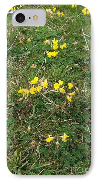 Yellow Flowers Phone Case by John Williams