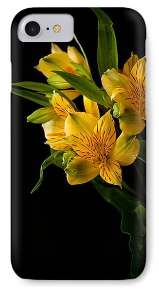 IPhone Case featuring the photograph Yellow Flowers by Sennie Pierson