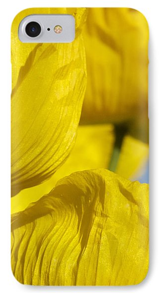Yellow Flowers IPhone Case by Stuart Hicks