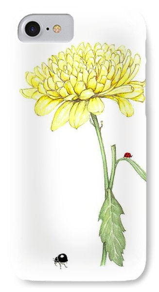 Yellow Fun IPhone Case by Heidi Kriel