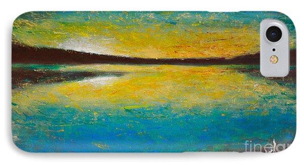 Yellow Horizon IPhone Case by Martin Capek