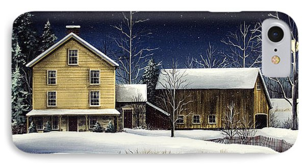 Yellow House Phone Case by Debbi Wetzel