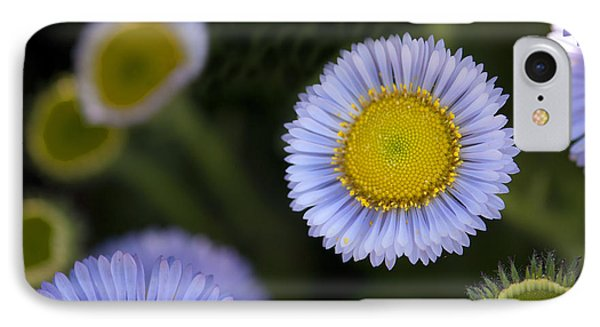 Yellow In The Middle Phone Case by Artist and Photographer Laura Wrede