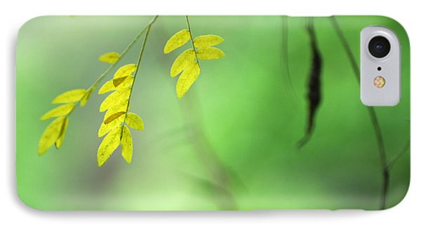 Yellow Leaves Phone Case by Guido Montanes Castillo