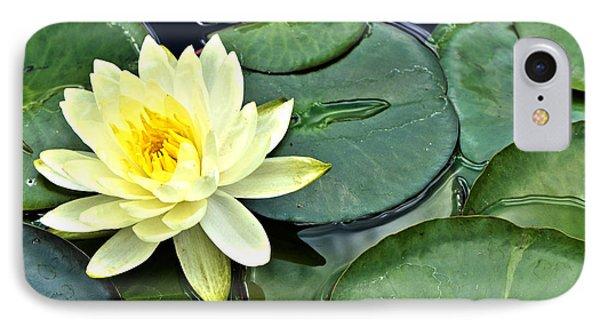 Yellow Lotus - Botanical Art By Sharon Cummings IPhone Case by Sharon Cummings