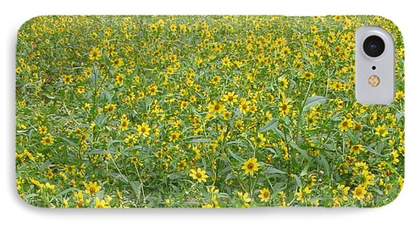 Yellow Meadow IPhone Case