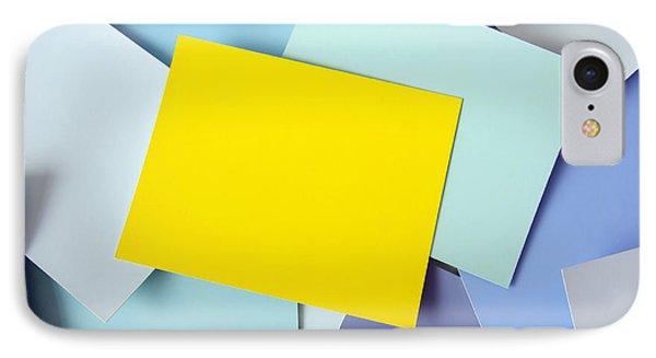 Yellow Memo Phone Case by Carlos Caetano