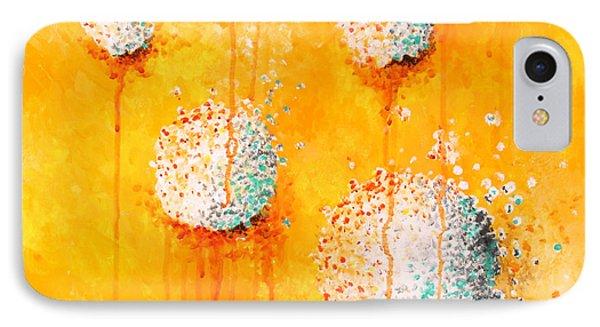 Yellow Phone Case by Michelle Boudreaux