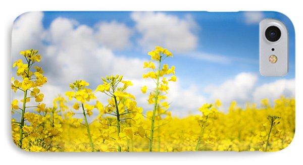 Yellow Mustard Field IPhone Case