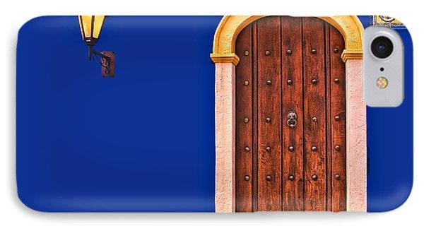 Door And Lamp IPhone Case