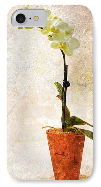IPhone Case featuring the photograph Yellow Orchid by Patti Deters