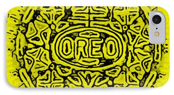 Yellow Oreo Phone Case by Rob Hans