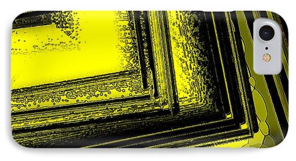 Yellow Over Yellow Art Phone Case by Mario Perez