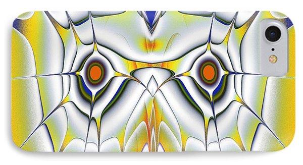 Yellow Owl IPhone Case by Anastasiya Malakhova