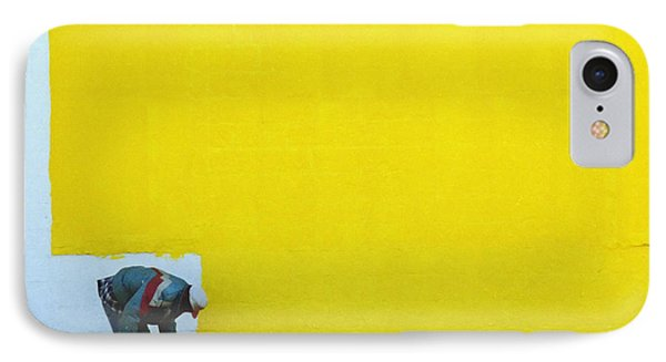Yellow Paint Phone Case by Tom Brickhouse