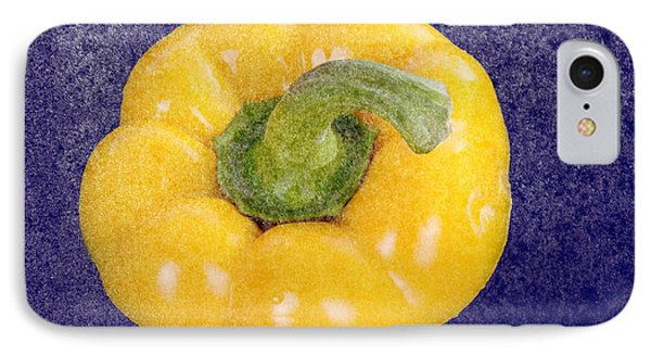 IPhone Case featuring the photograph Yellow Bell Pepper by Vizual Studio