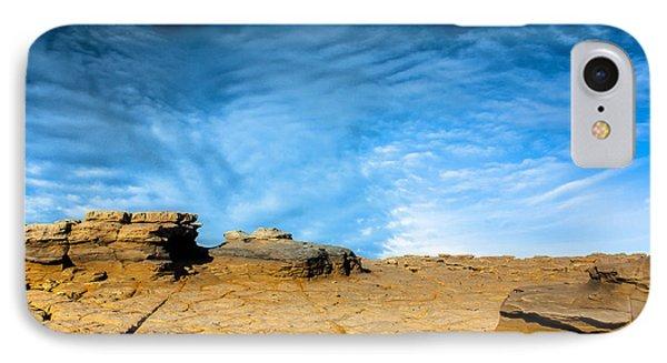 Yellow Rock IPhone Case by Edgar Laureano