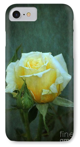 IPhone Case featuring the photograph Yellow Rose 2014 by Marjorie Imbeau