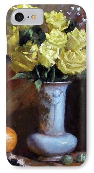Yellow Rose Bouquet IPhone Case