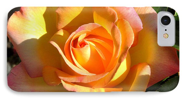 IPhone Case featuring the photograph Yellow Rose Bud by Debby Pueschel