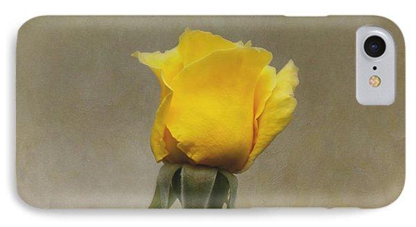 Yellow Rose Phone Case by Kim Hojnacki