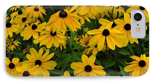IPhone Case featuring the photograph Yellow Rudbeckias by Gene Cyr