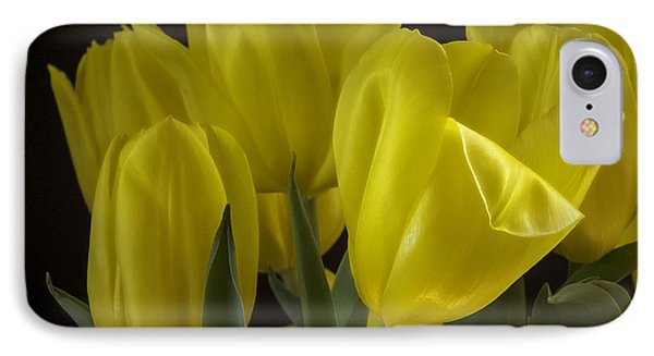 IPhone Case featuring the photograph Yellow Silk by Lucinda Walter