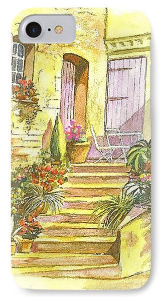 Yellow Steps IPhone Case by Carol Wisniewski