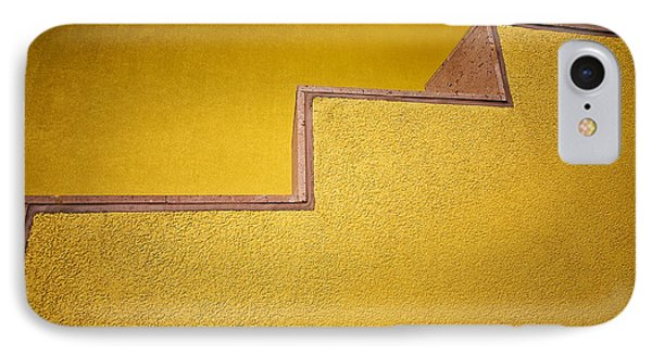 Yellow Steps IPhone Case by Melinda Ledsome