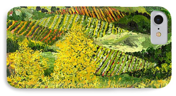 Yellow Trees Phone Case by Allan P Friedlander