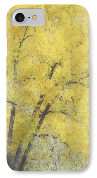 Yellow Trees IPhone Case by Ann Powell
