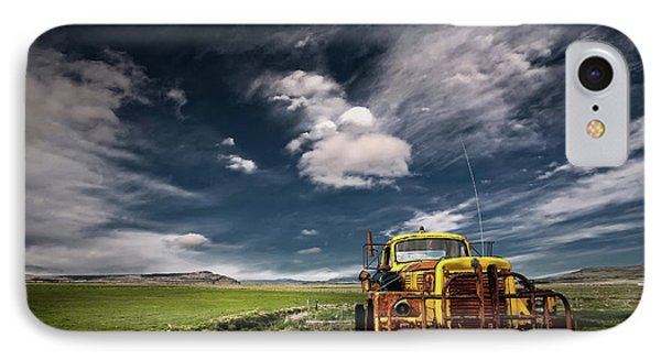 Yellow Truck IPhone Case