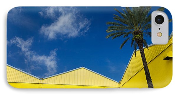 Yellow Warehouse IPhone Case