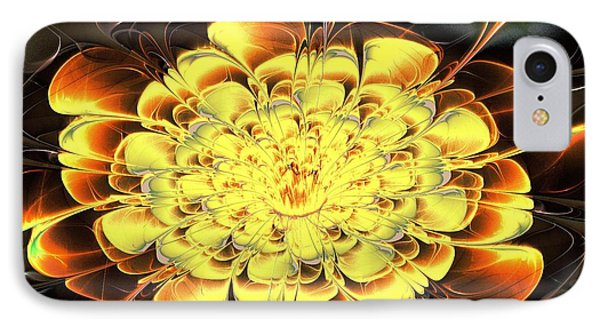 Yellow Water Lily IPhone Case by Anastasiya Malakhova