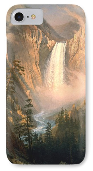 Yellowstone IPhone Case by Albert Bierstadt