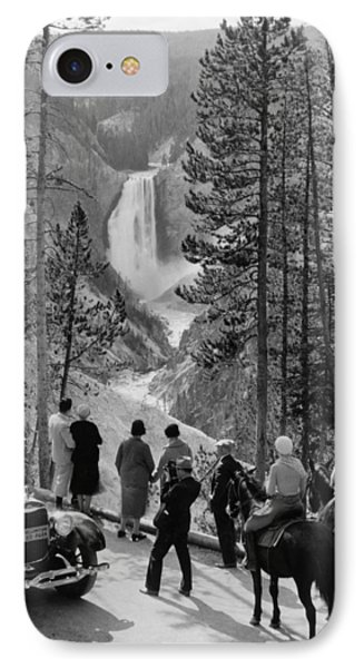 Yellowstone Canyon, C1932 IPhone Case by Granger