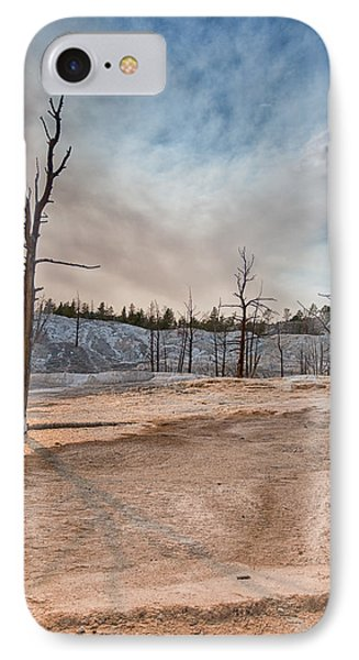 Yellowstone Desolation IPhone Case