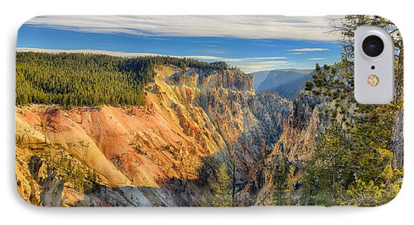 Yellowstone Grand Canyon East View IPhone Case