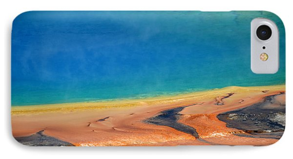 Yellowstone Grand Prismatic Colors IPhone Case by Debra Thompson