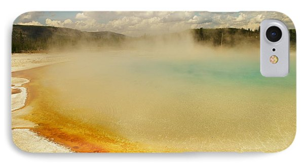 Yellowstone Hot Springs Phone Case by Jeff Swan