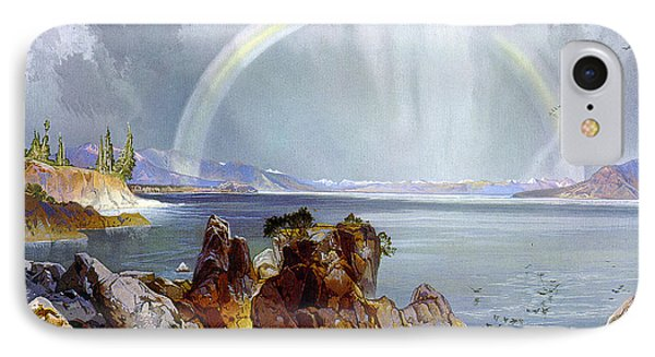 Yellowstone Lake 1875 Phone Case by Unknown