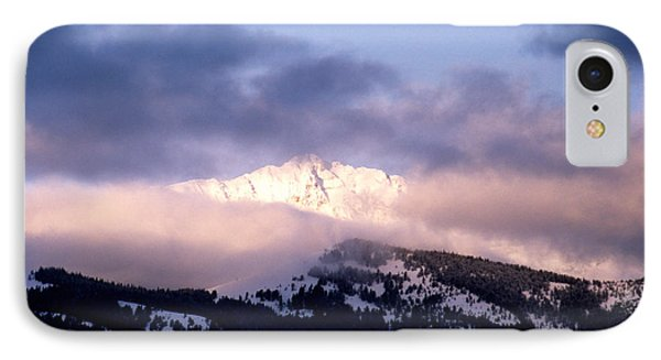IPhone Case featuring the photograph Yellowstone Morning by Sharon Elliott