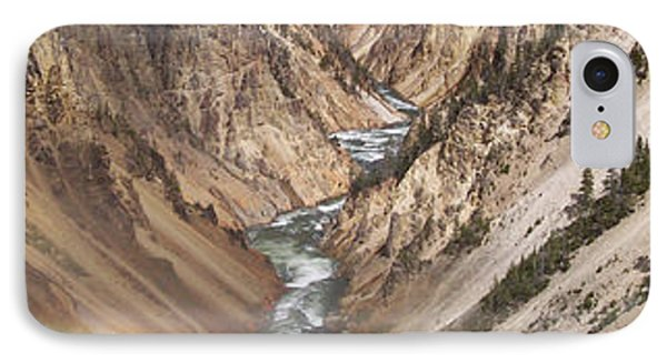 Yellowstone National Park Montana  3 Panel Composite Phone Case by Thomas Woolworth