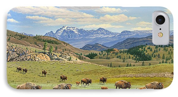 Yellowstone Spring IPhone Case