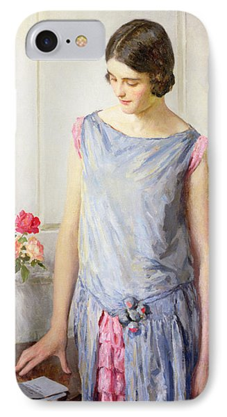Yes Or No IPhone Case by William Henry Margetson
