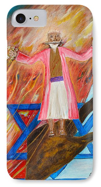 IPhone Case featuring the painting Yeshua by Cassie Sears