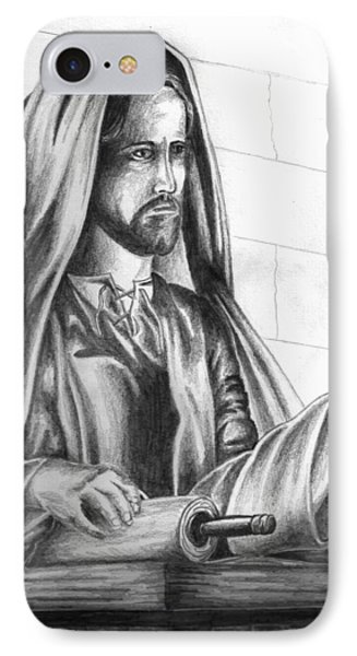 Yeshua In The Temple Phone Case by Marvin Barham