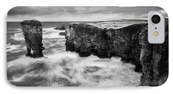 Yesnaby Castle IPhone Case by Dave Bowman