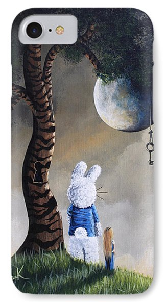 Alice In Wonderland Artwork - Fairytale Paintings IPhone Case by Shawna Erback